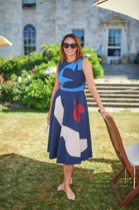 Caroline Rush in Roksanda al Cartier Style et Luxe at Goodwood Festival Of Speed