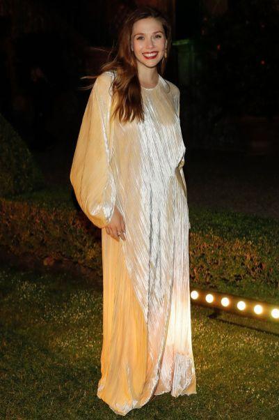 Elizabeth Olsen in Rosetta Getty, Italy