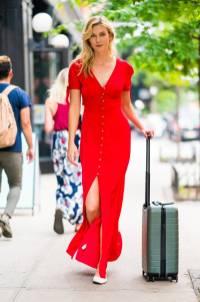 Karlie Kloss in Karlie Kloss X Express., NY