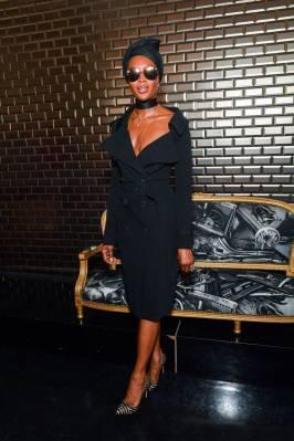Naomi Campbell al Jean Paul Gaultier Haute Couture AW18 show, Paris