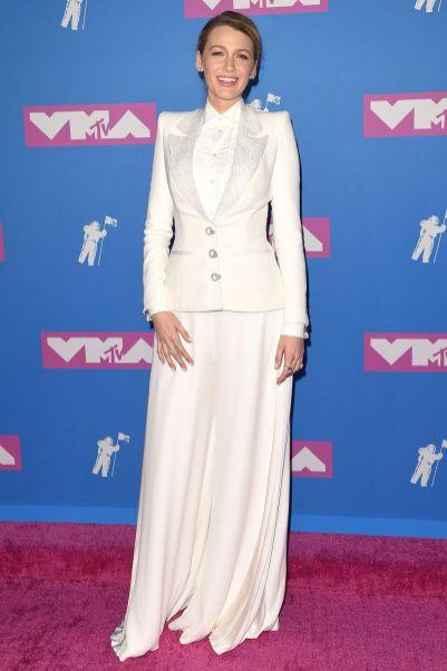Blake Lively in Ralph & Russo agli MTV VMA 2018
