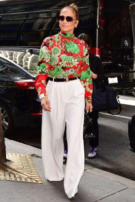 Jennifer Lopez in Gucci,New York.