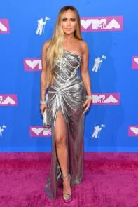 Jennifer Lopez in Versace agli MTV Video Music Awards, New York