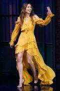 Jessica Biel al Late Night with Seth Meyer