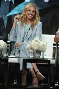 Julia Roberts in Sandro al Summer 2018 TCA Press Tour, California