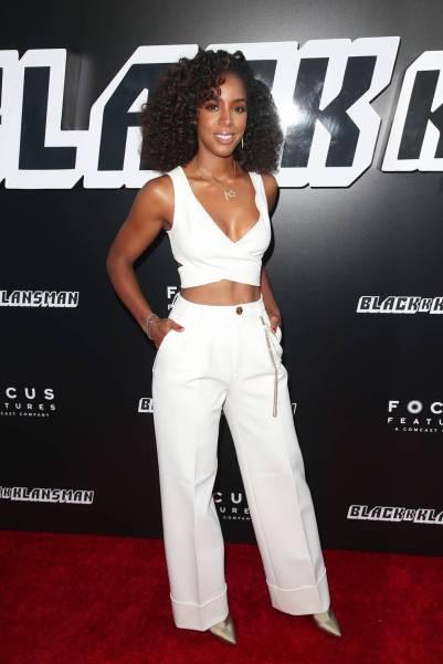 Kelly Rowland al 'BlacKkKlansman' film premiere, Los Angeles