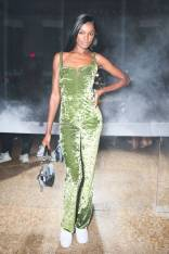 Leomie Anderson al Revlon and Mette Towley celebrate the 'Volumazing Mascara' launch, New York