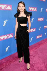 Millie Bobby Brown in Rosie Assoulin agli MTV VMA 2018
