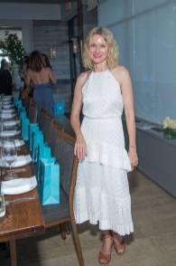 Naomi Watts in ZImmerman al Hamptons Magazines and Lladro celebration of Onda Beauty, New York