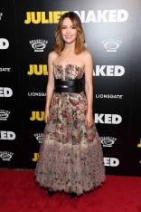 Rose Byrne in Dior al 'Juliet, Naked' premiere, New York