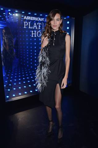 Alexa Chung all'ALEXACHUNG after-party with American Express, London