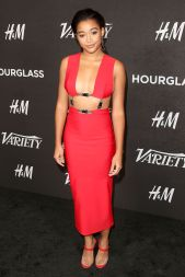 Amandla Stenberg in Chroma al Variety's Power of Young Hollywood event.