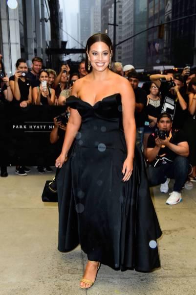 Ashley Graham ai The 6th annual Fashion Media Awards, New York
