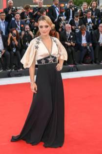 Carolina Crescentini in Gucci al Venice Film Festival 2018