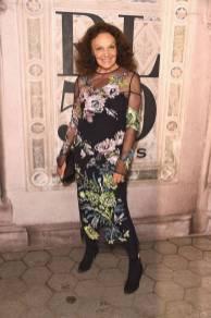 Diane von Furstenberg al Ralph Lauren 50th Anniversary event New York Fashion Week