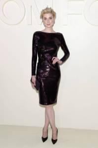 Elizabeth Debicki in Tom Ford al Tom Ford SS19 show New York Fashion Week