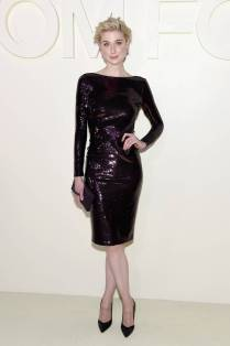 Elizabeth Debicki in Tom Ford al Tom Ford SS19 show New York Fashion Week