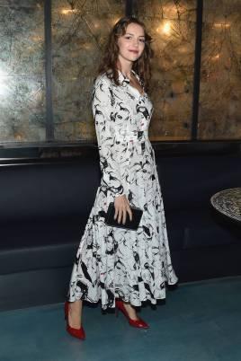 Elle Hunt alla Michael Kors x 10 Corso Como dinner, New York