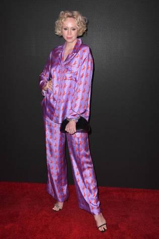 Gwendoline Christie al Calvin Klein Collection show, New York Fashion Week