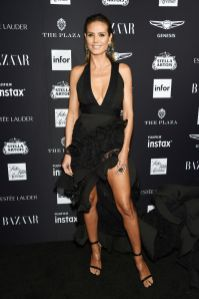 Heidi Klum al Harper's Bazaar Icons party durante la New York Fashion Week