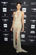 Isabeli Fontana al Harper's Bazaar Icons party durante la New York Fashion Week