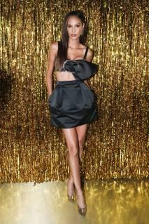 Joan Smalls al Jimmy Choo dinner New York Fashion Week