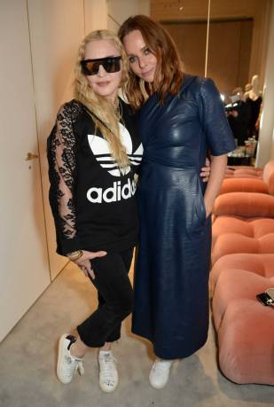 Madonna e Stella McCartney Stella McCartney x Stan Smith launch party, London