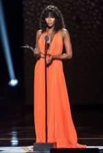 Naomi Campbell in Calvin Klein ai Black Girls Rock! Awards, Newark
