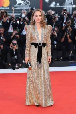 Natalie Portman in Gucci al 'Vox Lux' screening Venice Film Festival, Venice