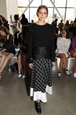 Olivia Palermo al Self-Portrait show New York Fashion Week
