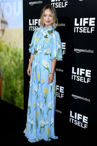 Olivia Wilde in Andrew Gn alla premiere of Life Itself, Hollywood.