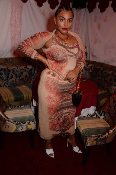 Paloma Elsesser al LOVE 10th anniversary party, Loulou's London