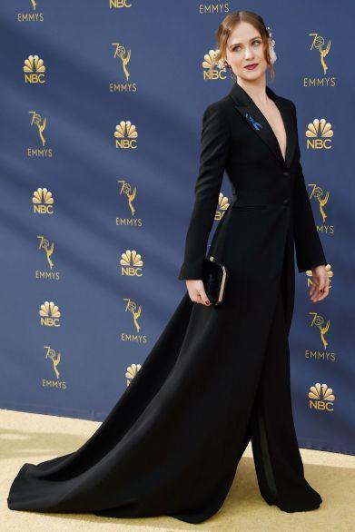 Rachel Evan Woods in Altuzarra agli Emmy Awards, California