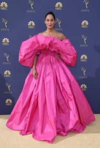 Traces Ellis Ross in Valentino Couture agli Emmy Awards, California