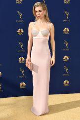 Vanessa Kirby in Tom Ford agli Emmy Awards, California
