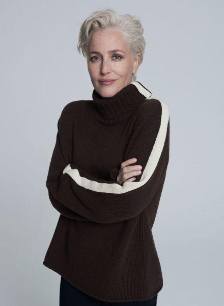 Gillian Anderson crea una capsule per Winser London