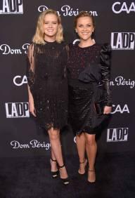 Ava Phillippe e Reese Whiterspoon in Dundas al LA Dance Project Gala 2018, Los Angeles