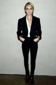 Cara Delevingne al Through Her Lens The Tribeca Chanel Women's Filmmaker Program Cocktail Party, New York
