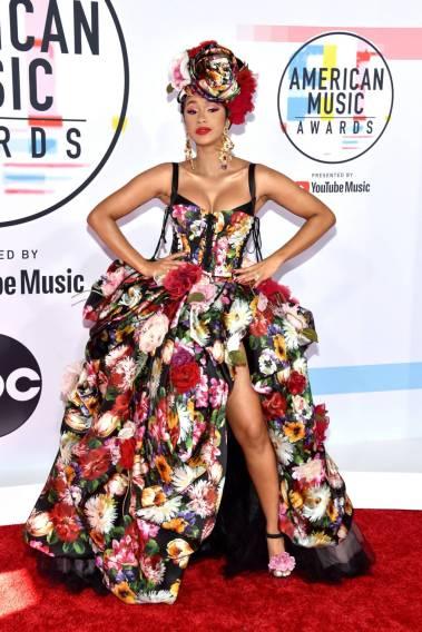 Cardi B. agli American Music Awards, Los Angeles