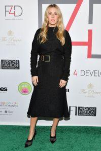 Ellie Goulding in Edeline Lee e scarpe Stella McCartney al Fashion 4 Development event, New York