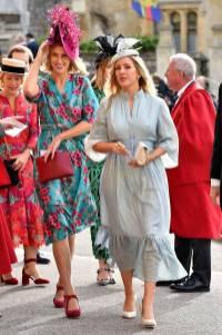 Ellie Goulding in Suzannah al matrimonio della Principessa Eugenia di York, Windsor