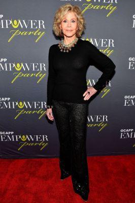 Jane Fonda al 2018 GCAPP EmPower Party.