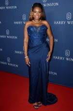 Jennifer Hudson in Vivienne Westwood all'Harry Winston event jeweller's new collection, NY