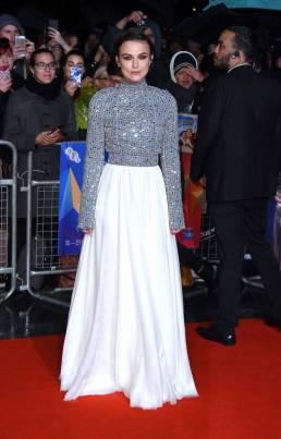 Keira Knightley in Chanel alla Colette premiere, BFI London Film Festival