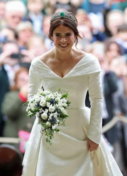 La Principessa Eugenia in Peter Pilotto al suo matrimonio, Windsor