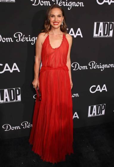 Natalie Portman in Christian Dior al LA Dance Project Gala 2018, Los Angeles -