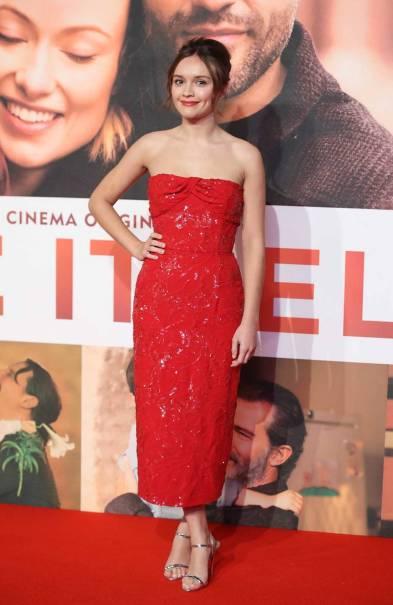 Olivia Cooke in Prada e gioielli Messika alla 'Life Itself' Premiere, London