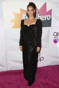 Olivia Munn in Self-Portrait al Girl Up's Inaugural #GirlHero Awards,Beverly Hills