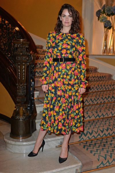 Ruth Wilson in Michael Kors al Michael Kors and David Downton's cocktail party, London