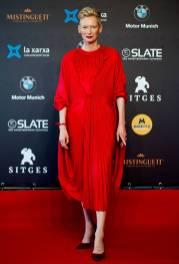 Tilda Swinton in Vetements al Sitges Film Festival, Sitges